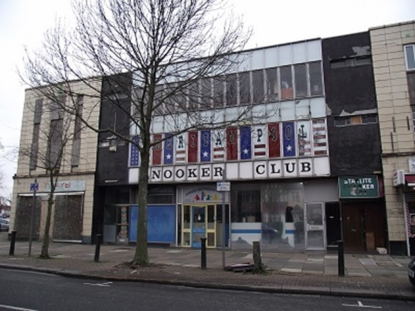 The Starlite Ballroom, Allendale Road, Greenford, London Borough of Ealing (photo AlbertinaMcNeill 2014)