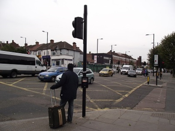 Junction of Ruislip Road Greenford Road (Albertina McNeill 2014)
